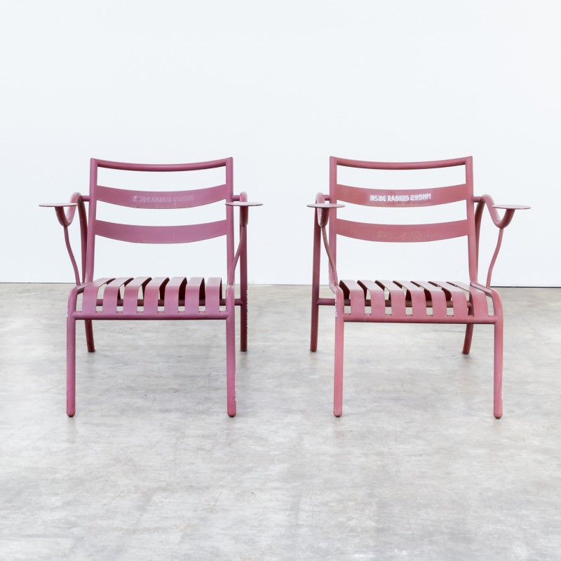 Pair Of Thinking Man Chairs By Jasper Morrison For Capellini   1980s.  Vintage Design Furniture. Previous