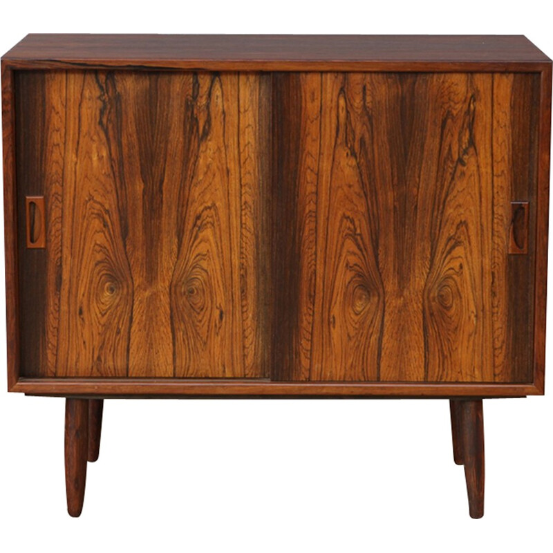 Small vintage rosewood sideboard - 1960s