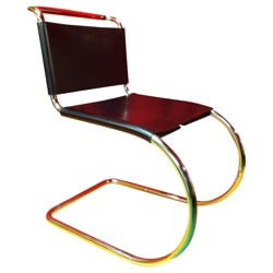 """MR10"" chair, Ludwig MIES VAN DER ROHE - 1980s"