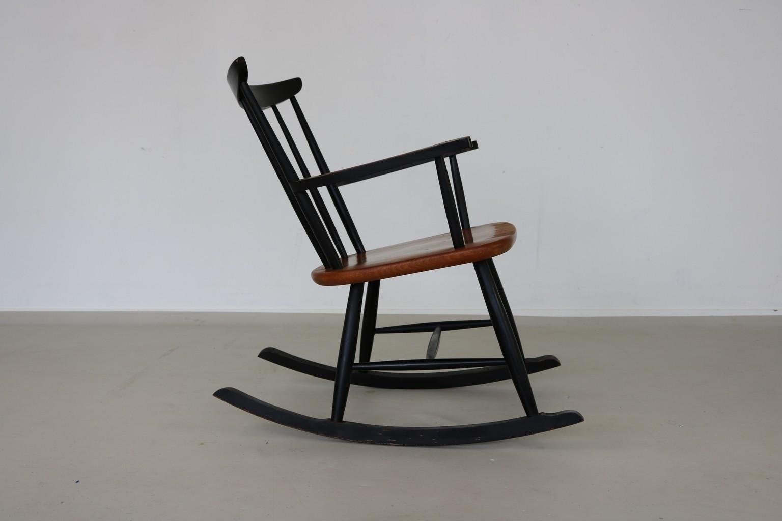 Scandinavian Rocking Chair   1960s. Previous Next