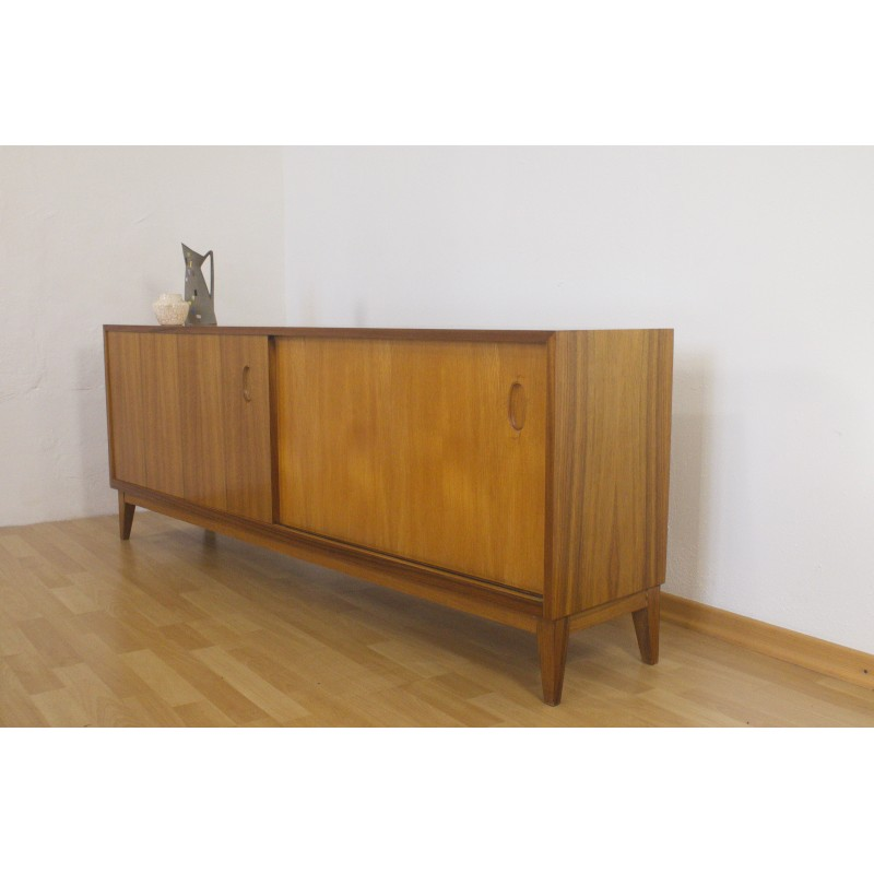 Walnut Sideboard with sliding doors, Georg Satink for WK ...