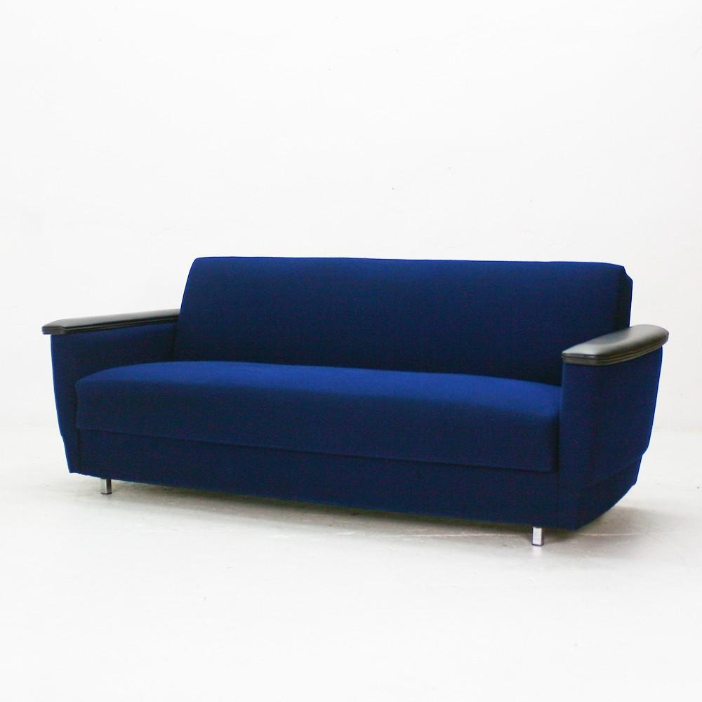 Bright blue sofa bed infosofaco for Royal blue sofa bed