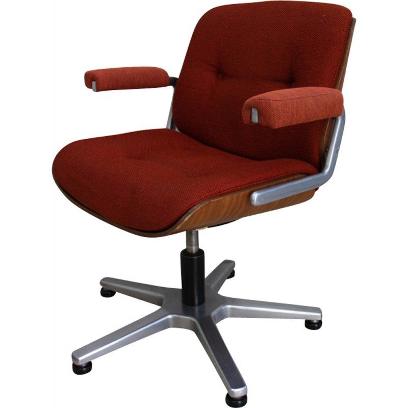 office chair vintage vintage swivel office chair giroflex stoll germany 1970s d