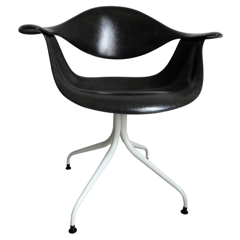 Black DAF Chair by George Nelson - 1950s