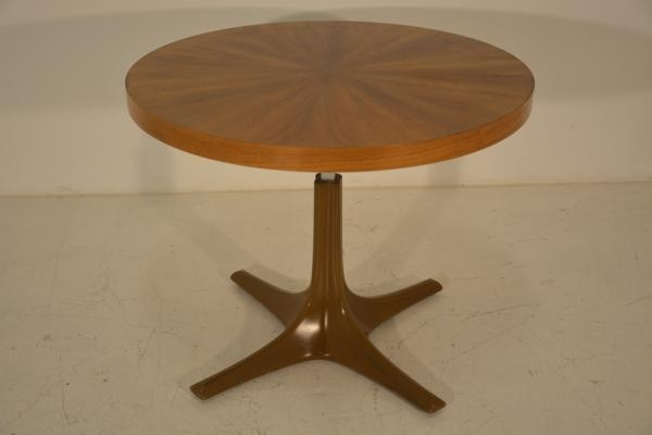 Scandinavian table with up and down system 1960s - Table transformable up down ...