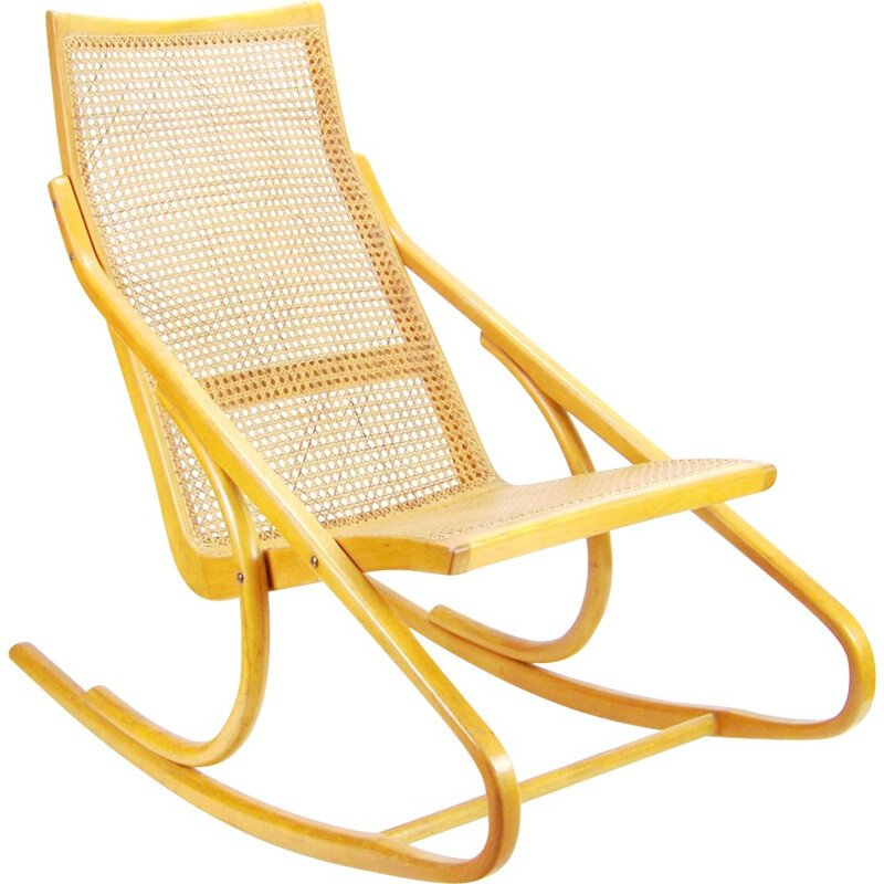 Rocking chair TON by Antonín Šuman - 1970s