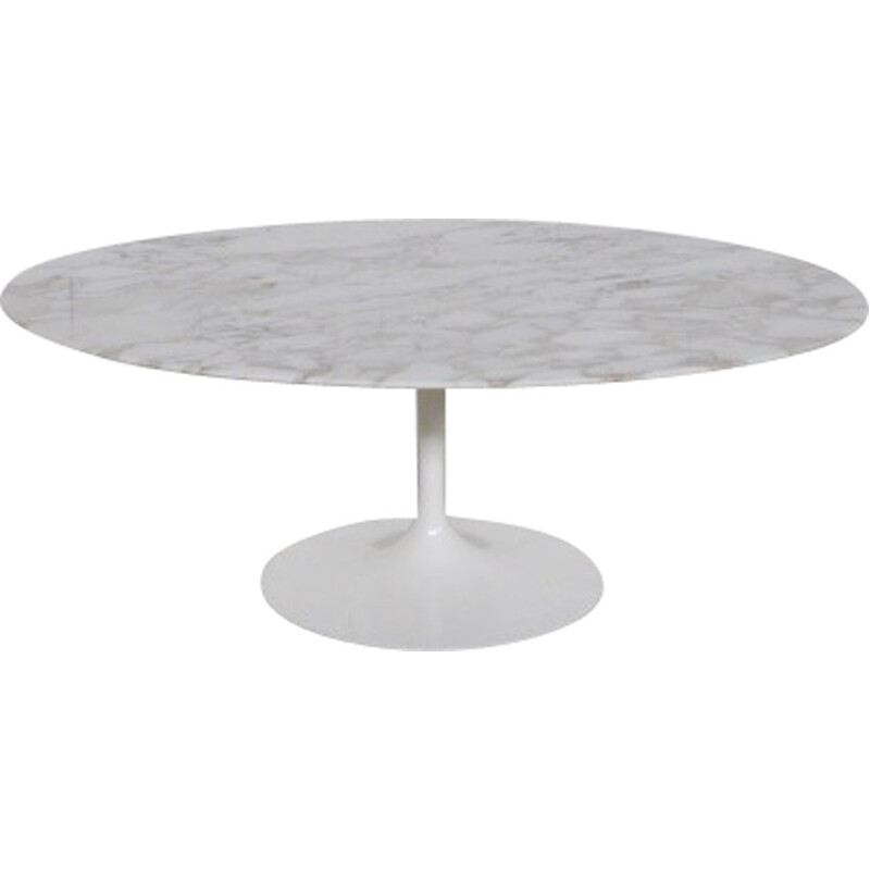 Marble coffee table by Eero Saarinen for Knoll International - 1970s