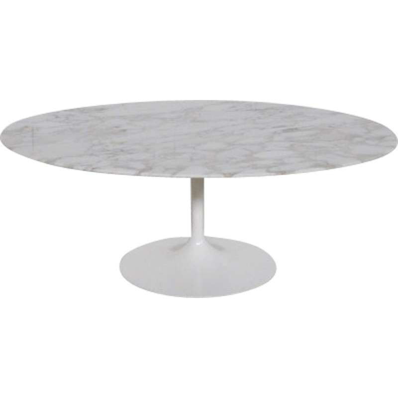 Marble Coffee Table By Eero Saarinen For Knoll International 1970s