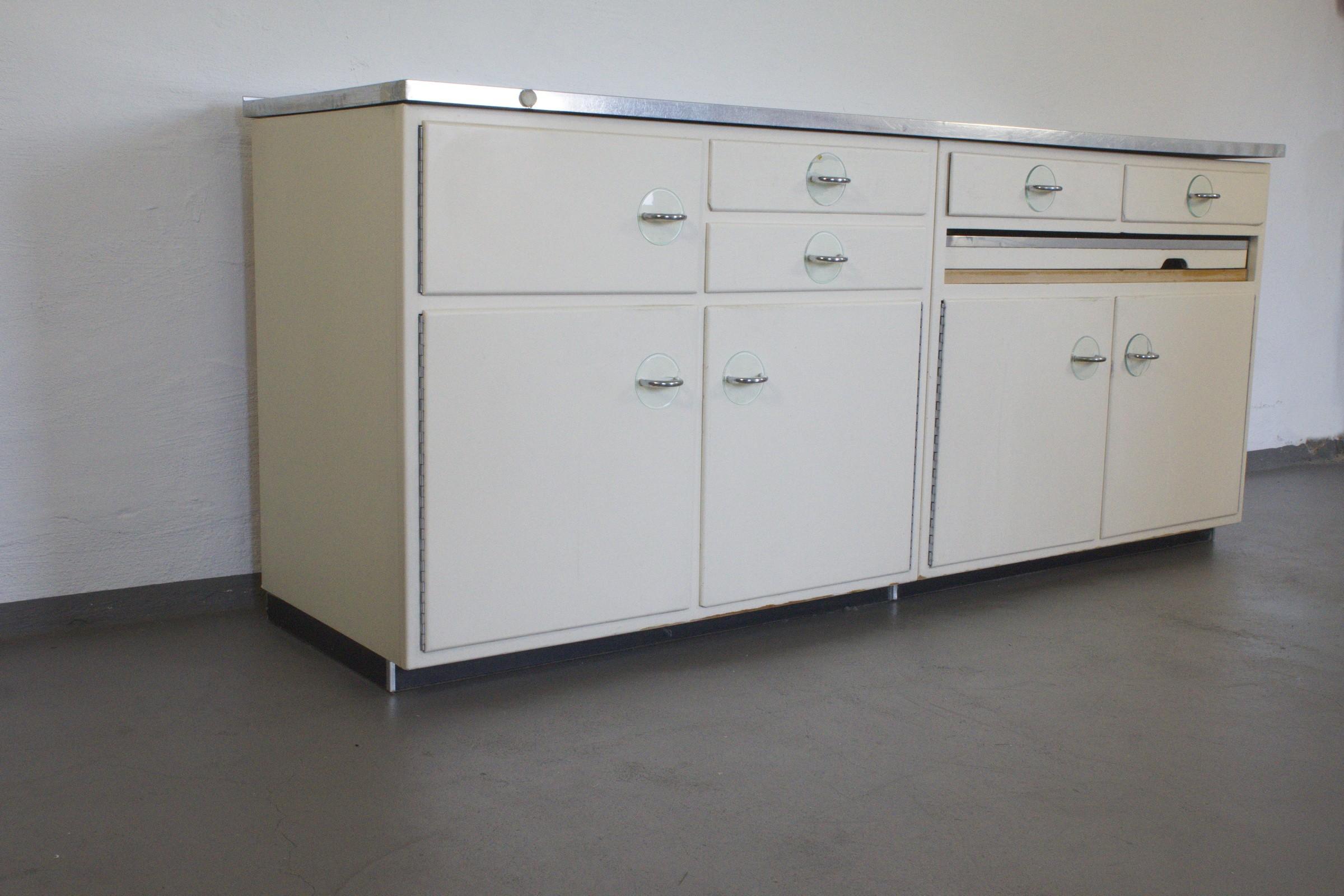 poggenpohl kitchen furniture model quot form 1000 quot 1950s