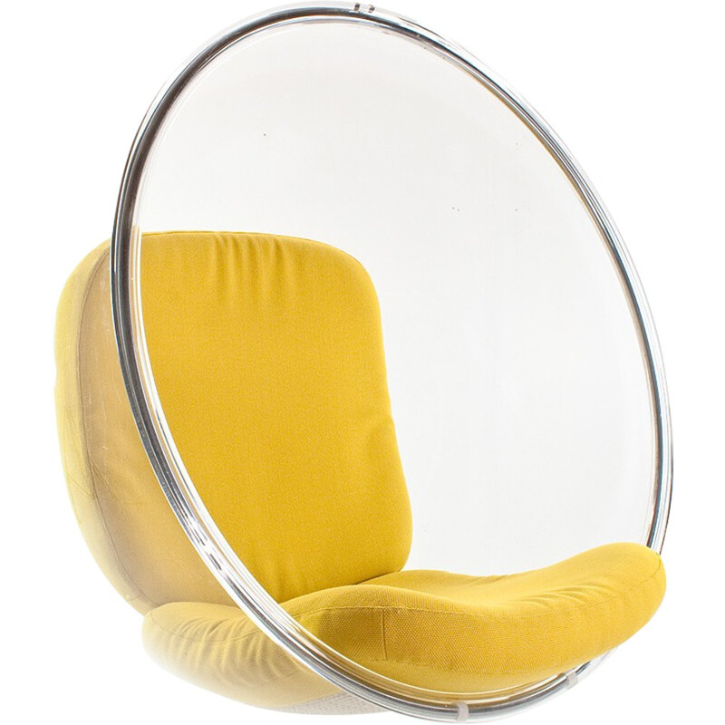 acrylic bubble chair by eero aarnio for adelta 2000s