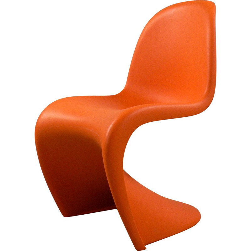 Panton orange child chair Vitra edition - 2000s