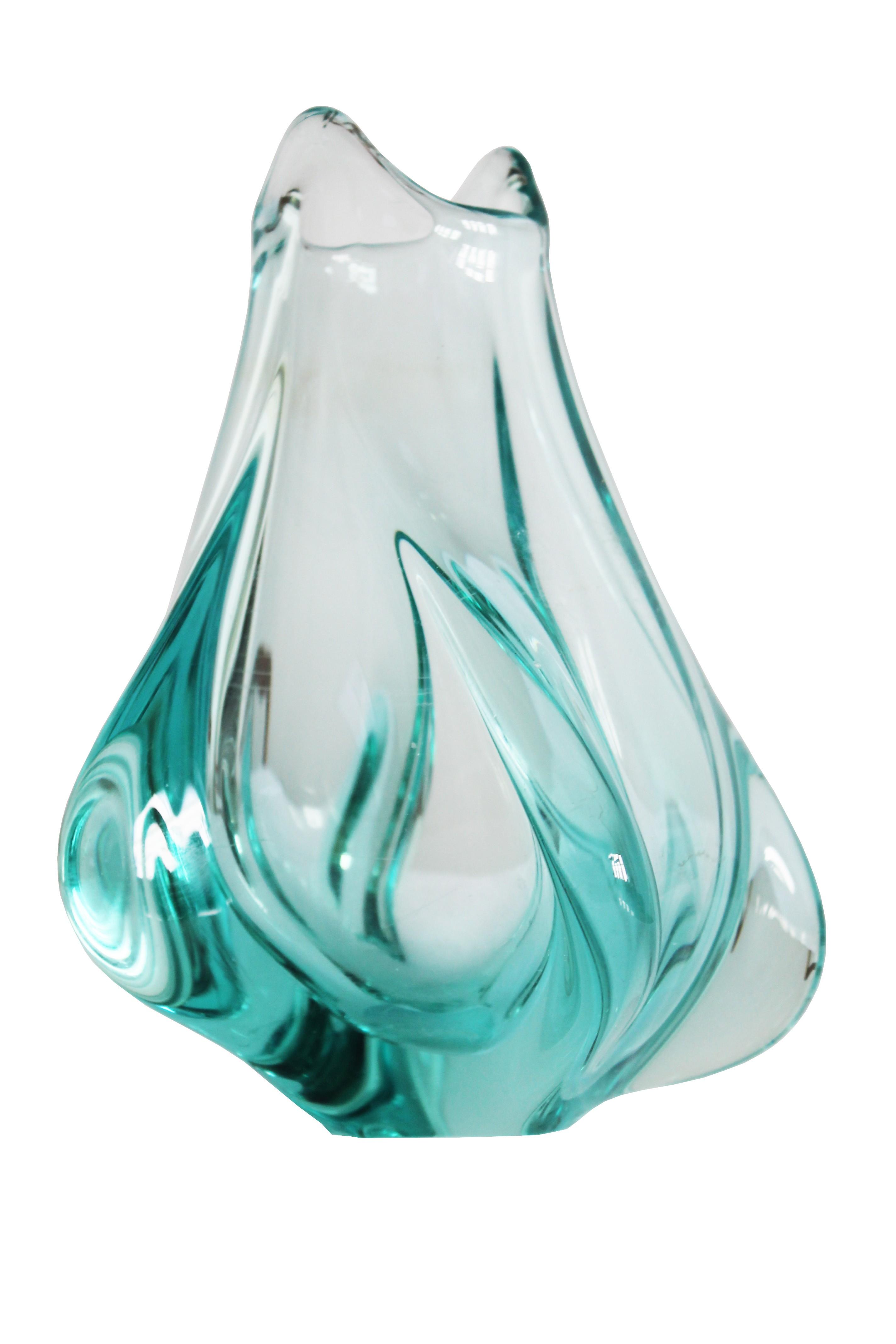Vintage blown glass flower vase by miloslav klinger 1950s previous next reviewsmspy
