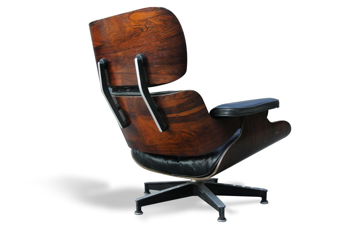 lounge chair charles ray eames 1960s design market. Black Bedroom Furniture Sets. Home Design Ideas