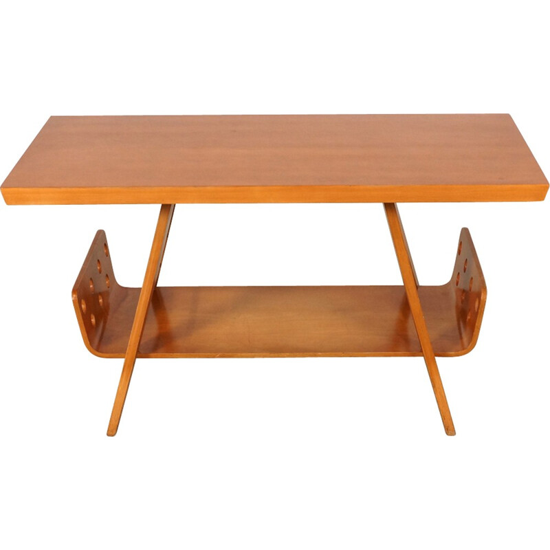Dutch Coffee Table by Cor Alons for Gouda Den Boer - 1950s