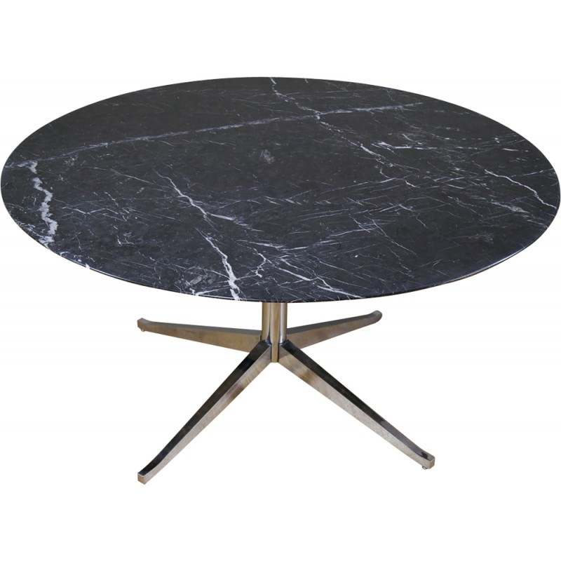 Marquina Marble Dining Table By Florence Knoll For 1990s
