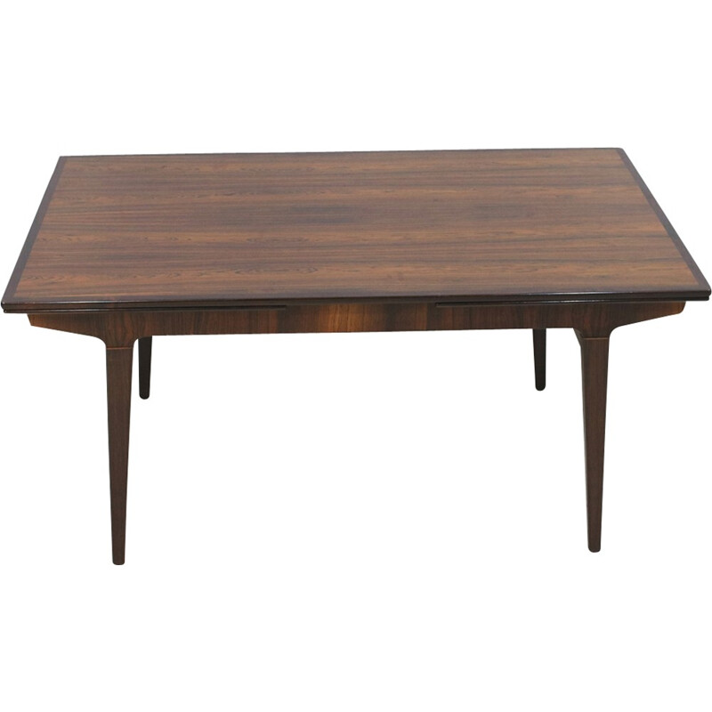 Rosewood extendable dining table by Johannes Andersen - 1960s
