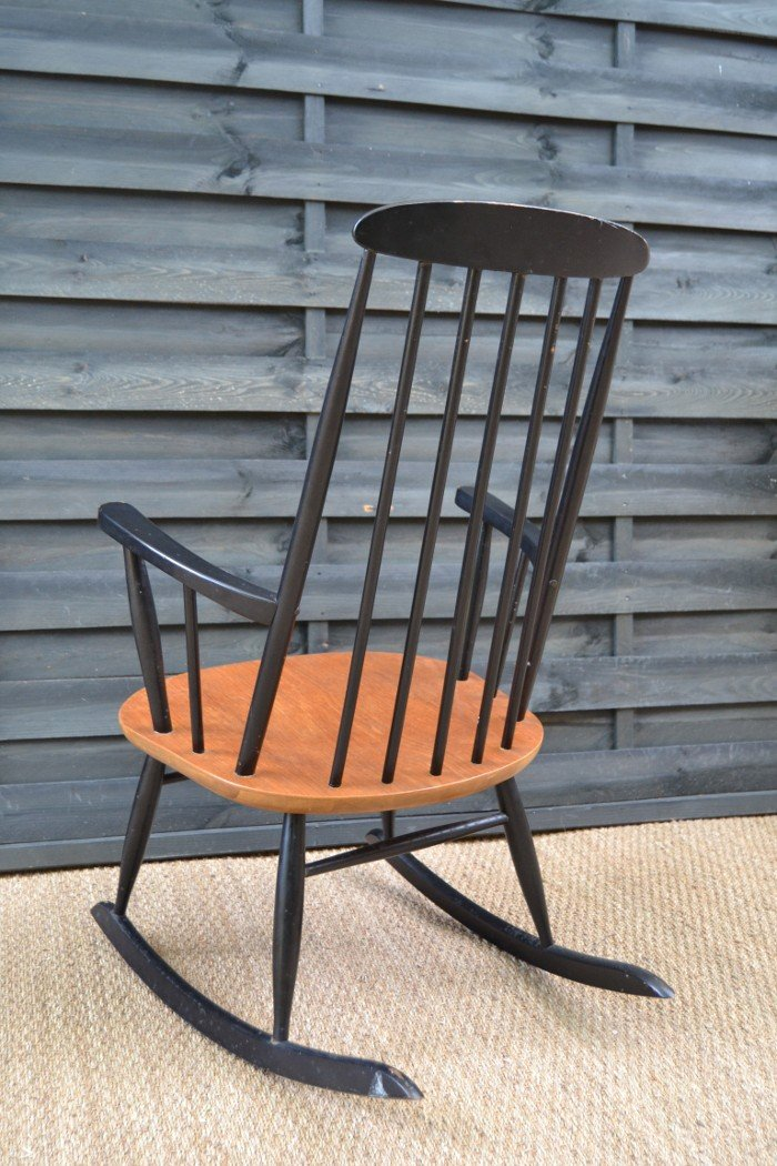 Danish Rocking Chair By Farstrup Mobler   1960s. Previous Next