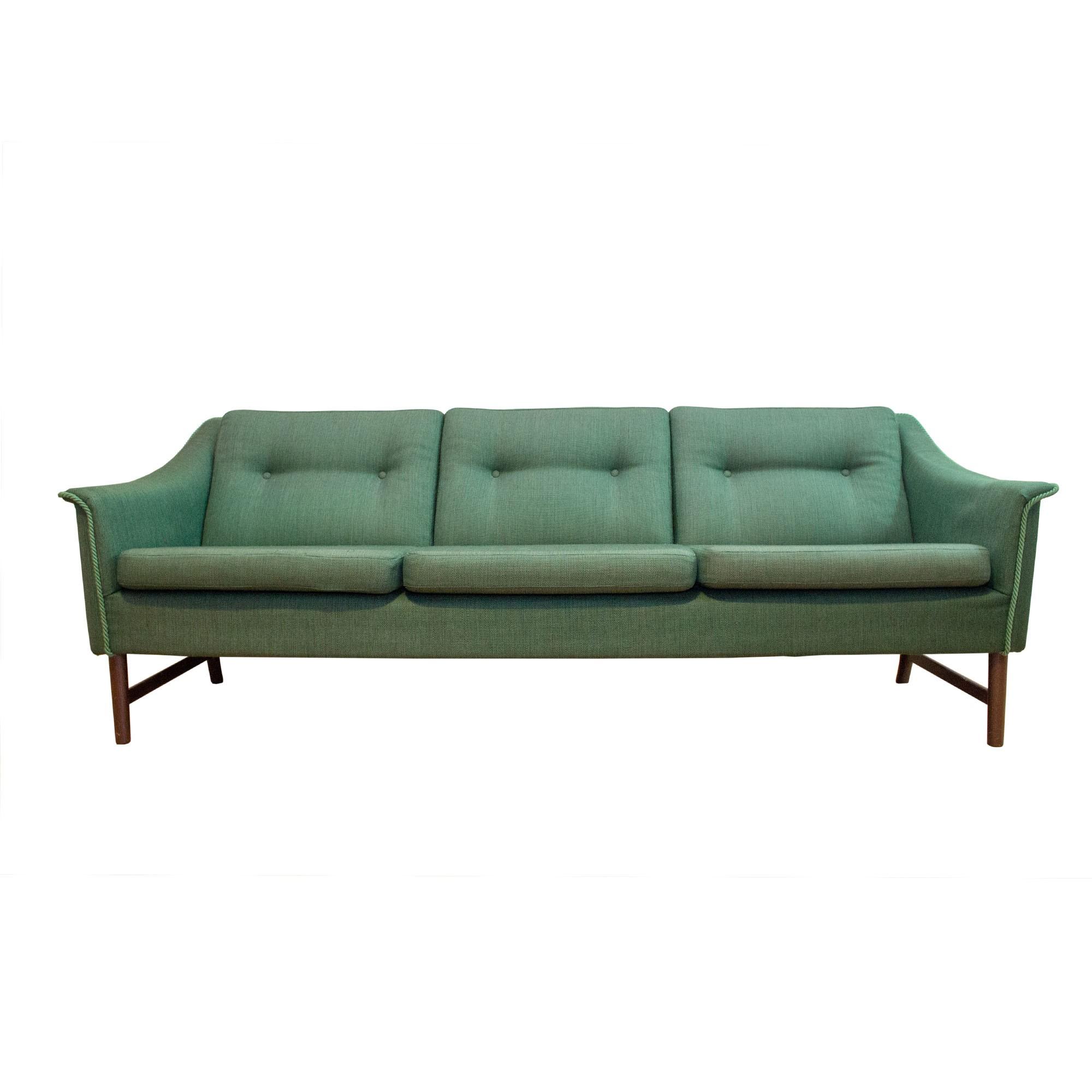 3 seater green sofa designed by Torbj¸rn Afdal 1960s Design Market