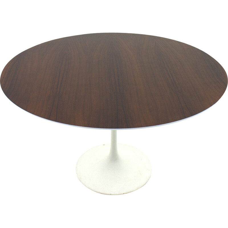 Rosewood dining table by Eero Saarinen for Knoll International - 1960s