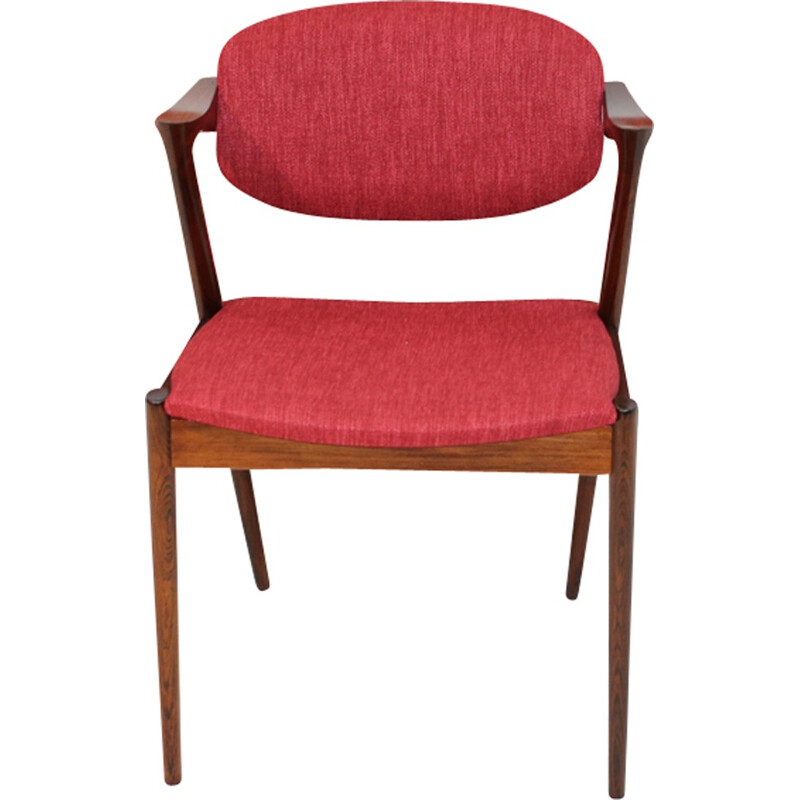 Set of 6 chairs by Kai Kristiansen for Schou Andersen - 1950s