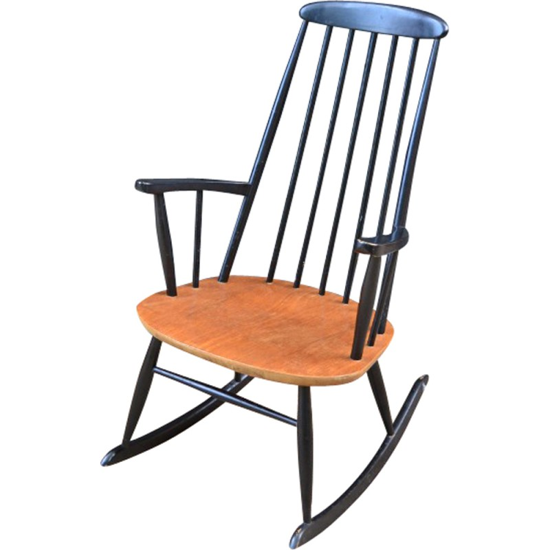 Amazing Danish Rocking Chair By Farstrup Mobler 1960S Pdpeps Interior Chair Design Pdpepsorg