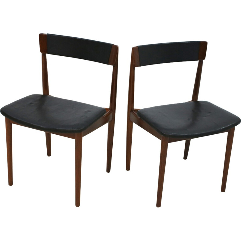 Pair of chairs by Henry Rosengren Hansen for Brande Møbelindustri - 1960s