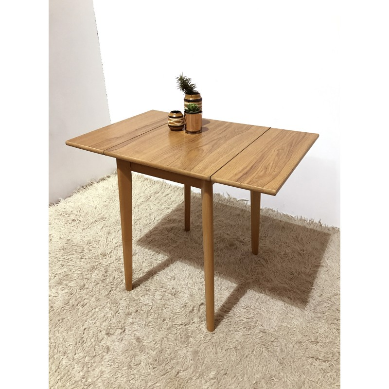 Small Formica Kitchen Drop Leaf Table 1950s Design Market