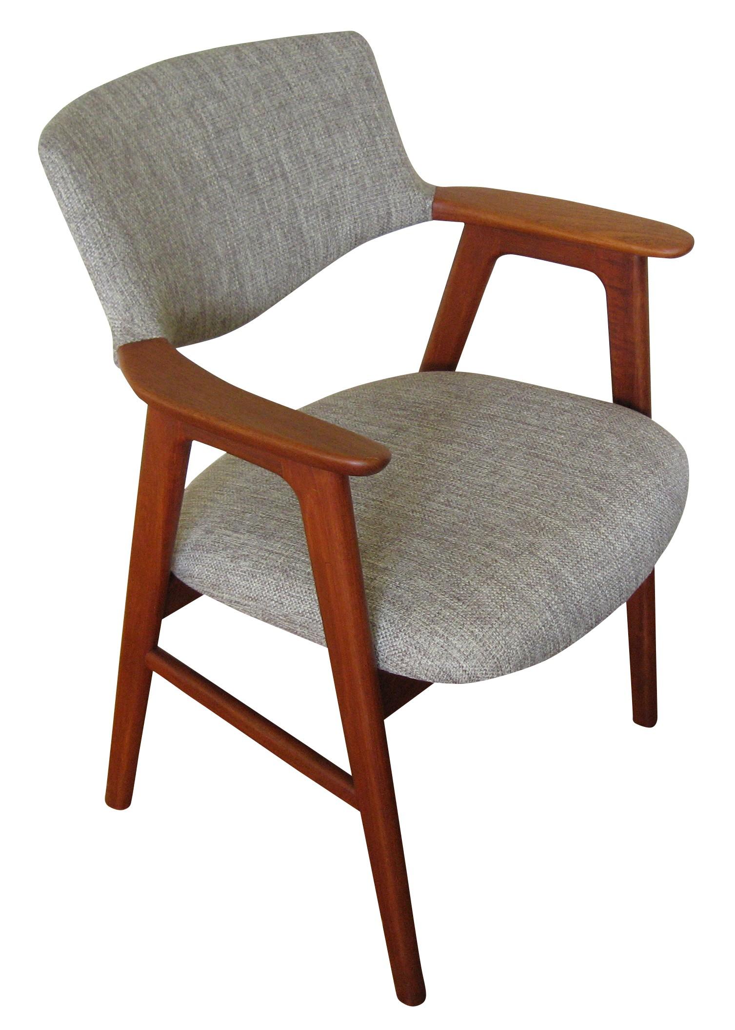 Danish teak armchair, Erik KIRKEGAARD - 1960s - Design Market