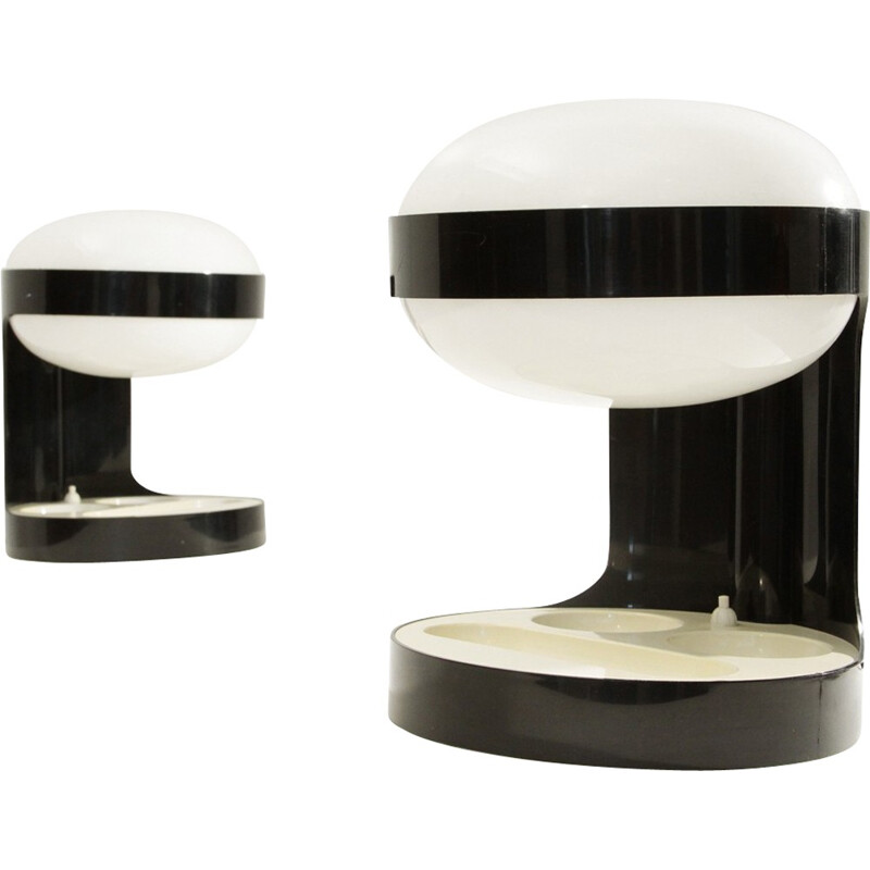 Pair of KD29 table lamp by Joe Colombo for Kartell - 1960s