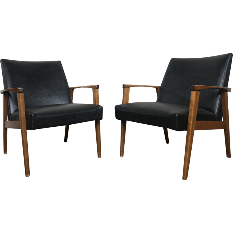Pair of armchairs by Grete Jalk for France & Son - 1960s