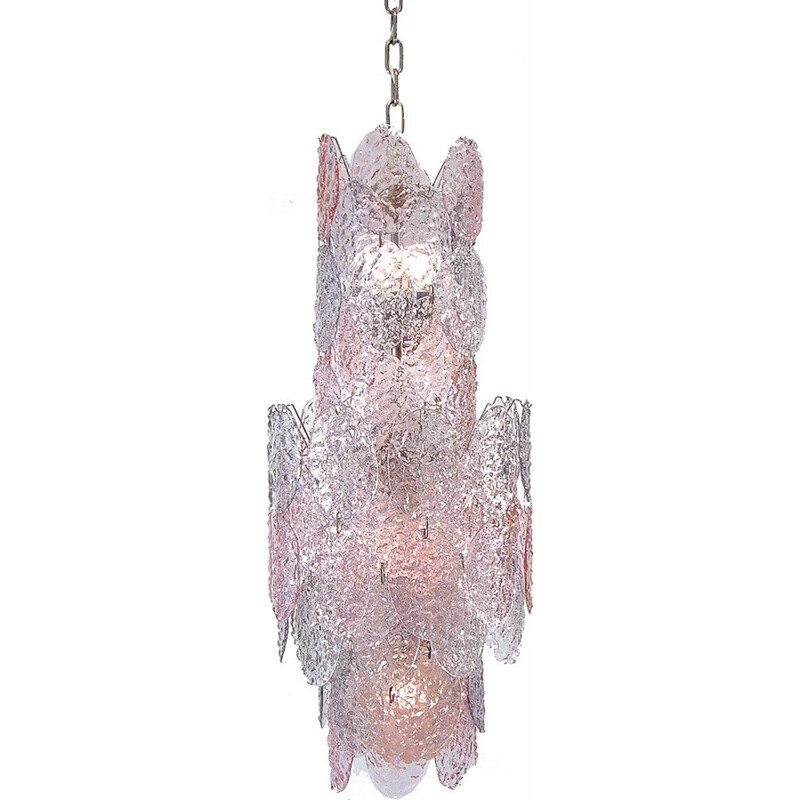 Murano glass chandelier by Gino Vistosi for Vistosi - 1960s