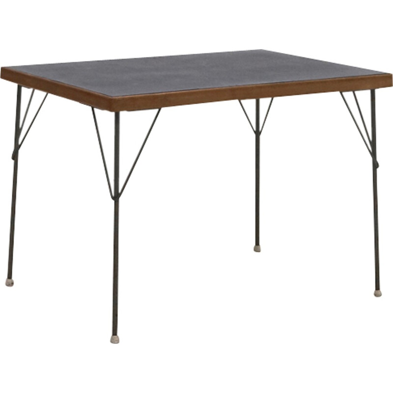 Gispen 530 dining table By Rietveld & Cordemeijer - 1950s