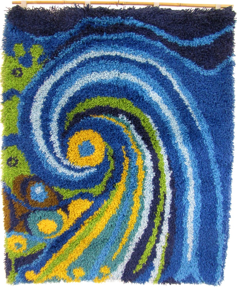 Decorative wall carpet from the 1970s Design Market