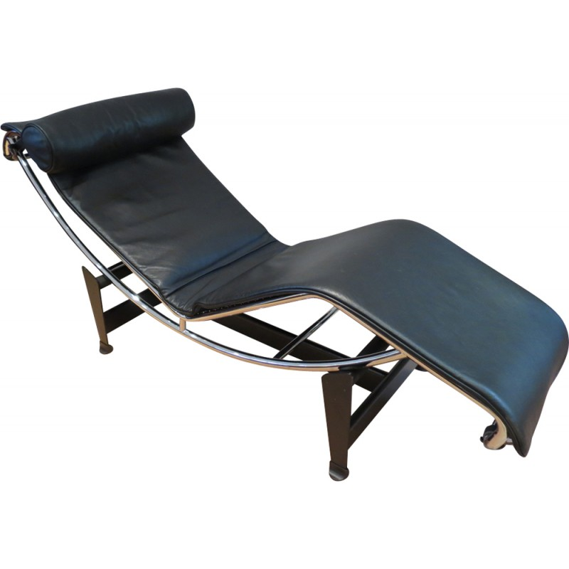 en cassina designers pierre corbusier longue edition by zoom pampas le chaise