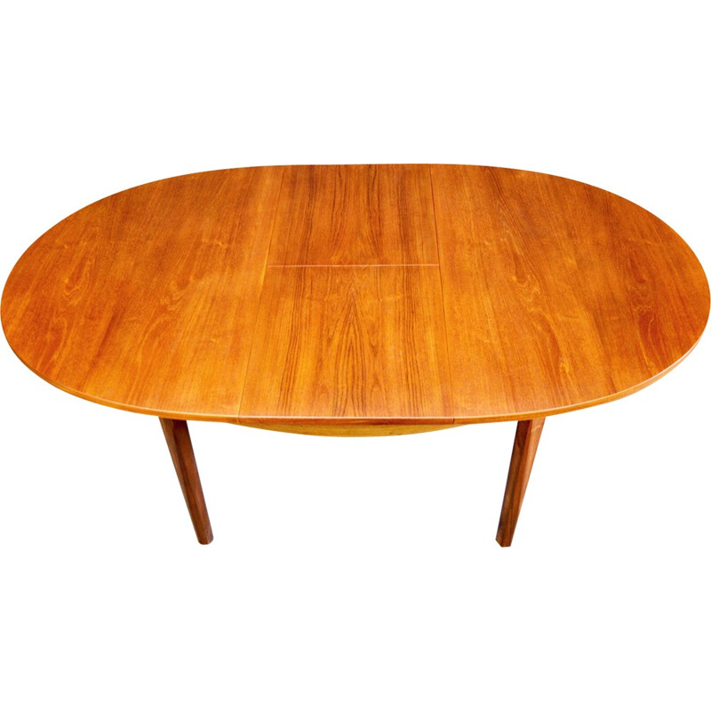 Mid-Century extendable teak dining table by William Lawrence - 1960s