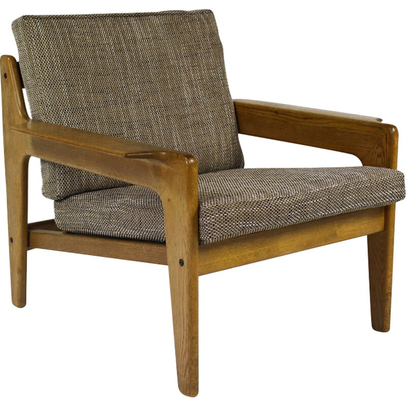 Mid century Danish Lounge Chair by Arne Wahl Iversen for Komfort - 1960s