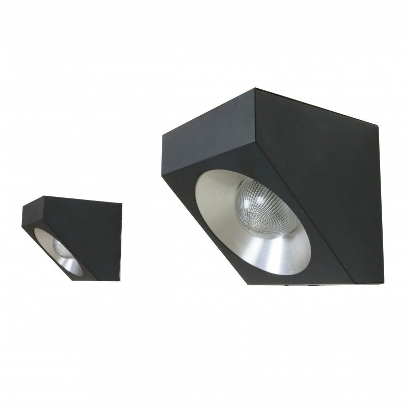 Enjoyable Set Of Two Modern Cubist Wall Lights By Raak Amsterdam 1960S Wiring Digital Resources Jebrpcompassionincorg
