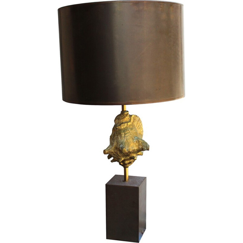 Table lamp in brass by Maison Charles - 1970s