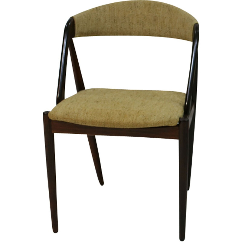 Set of 6 rosewood Dining Chairs by Kai Kristiansen - 1960