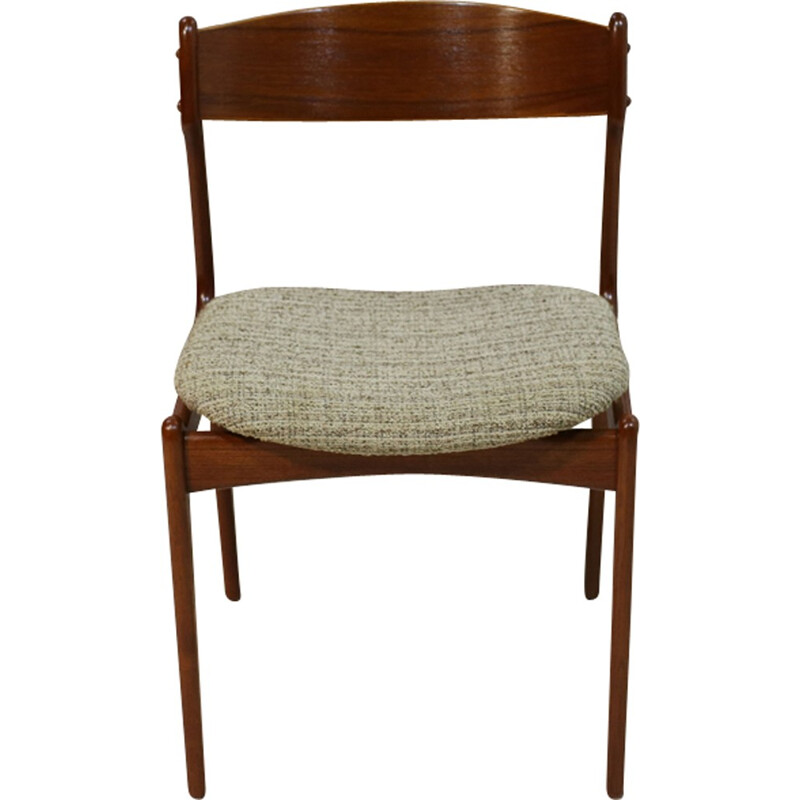 Set of 6 Teak Dining Chairs by Erik Buch - 1950s