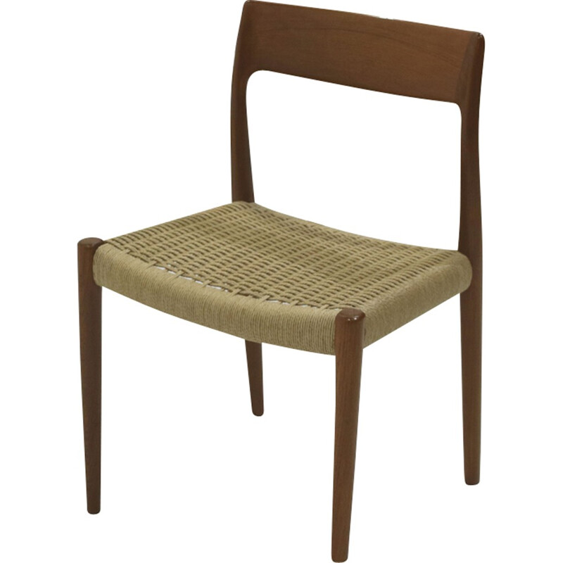 Set of 6 chairs by Niels O. Moller - 1950s