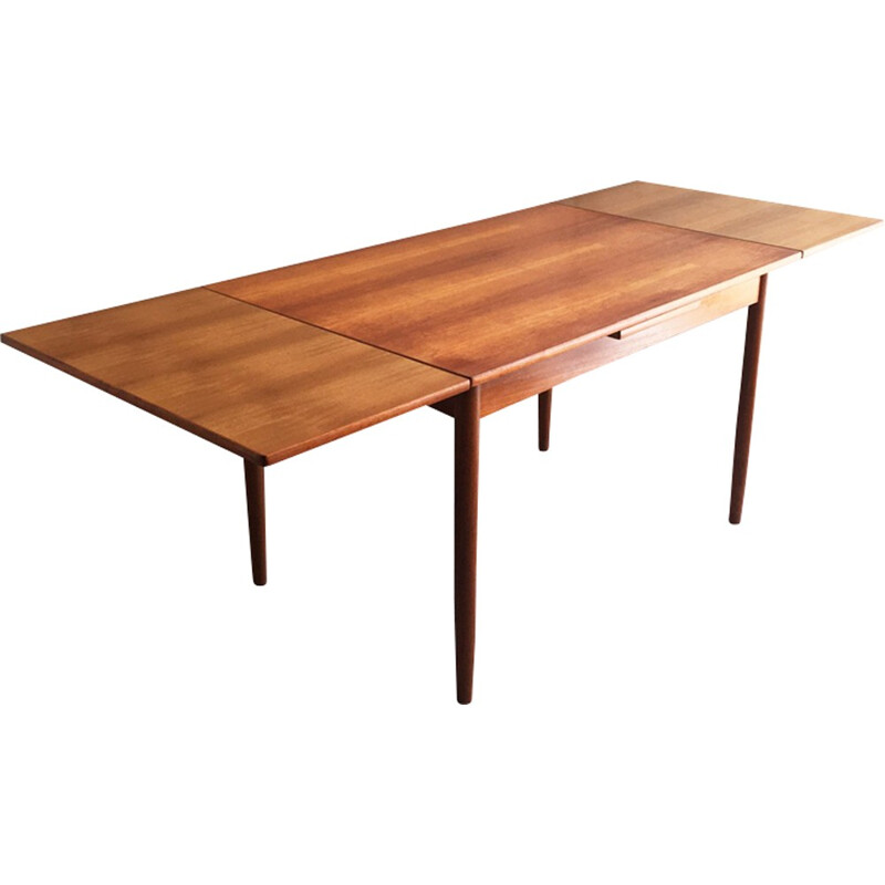 Mid century Danish A.B.J Furniture extendable dining table - 1970s