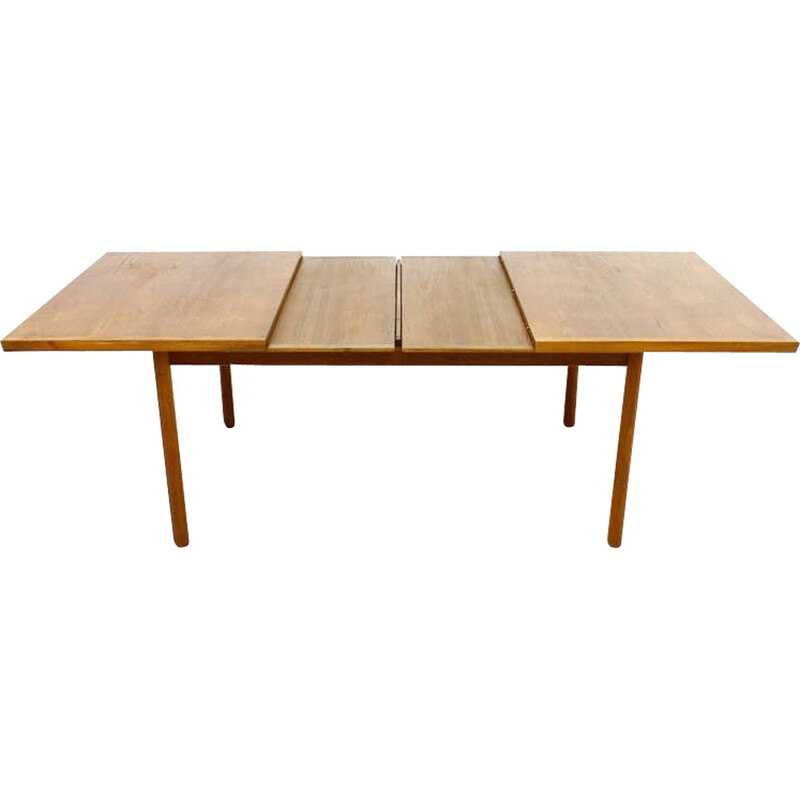 Teak Wood Extension Dining Table by France & Son, Denmark - 1960s