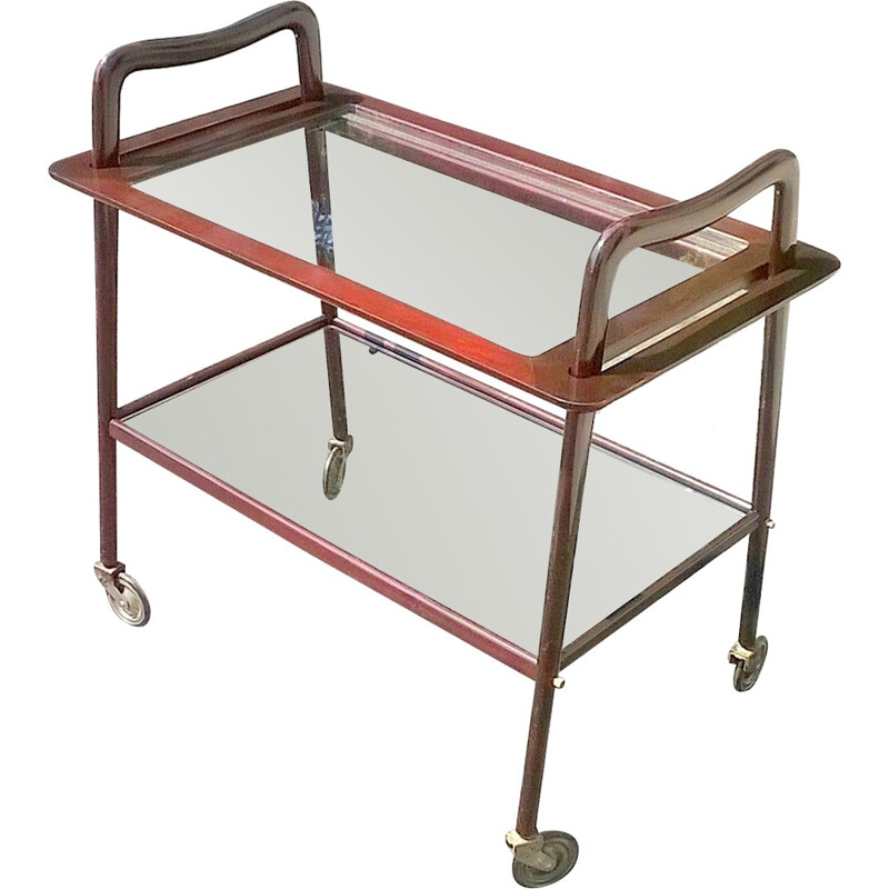 Ico Parisi serving cart for De Baggis - 1950s