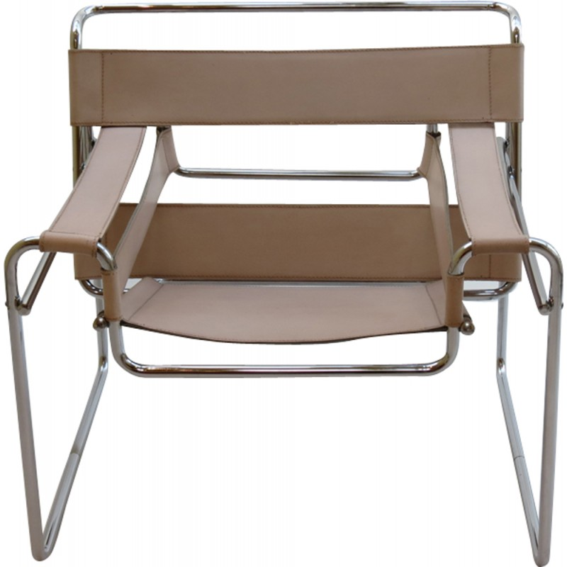 Vintage wassily chair by marcel breuer for knoll international for - Marcel Breuer Wassily Chairs By Gavina Italy 1960s