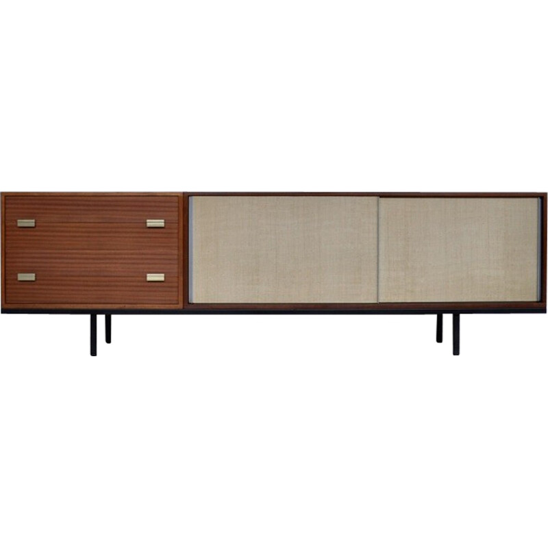 Mahogany sideboard by Georges Frydman for EFA - 1960s