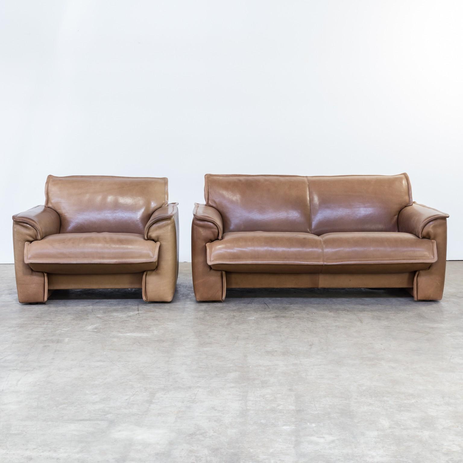 Vintage living room set by Leolux - 1970s - Design Market