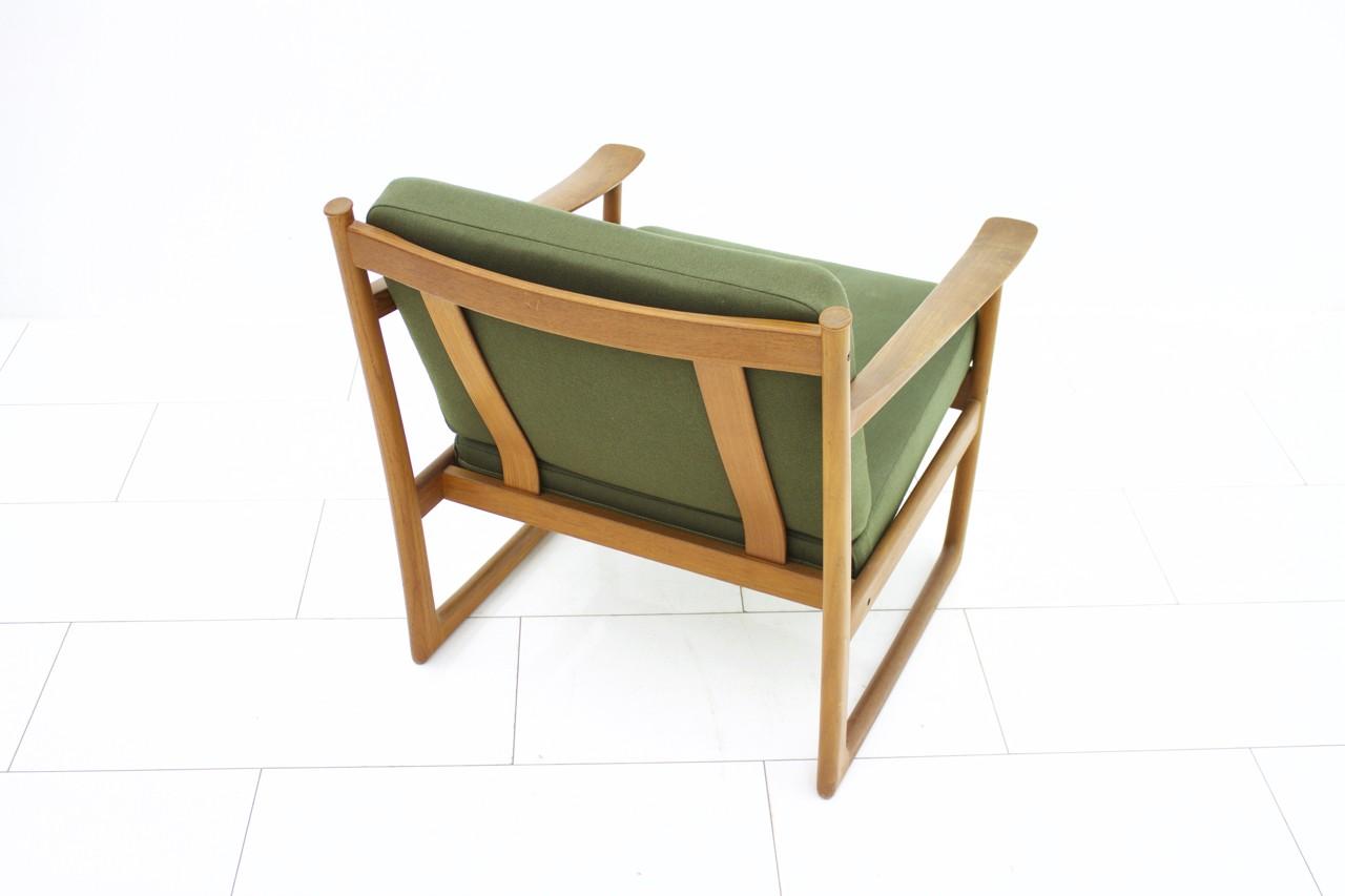 Peter Hvidt Teak Wood Easy Chair Fd 130 1960s Design Market