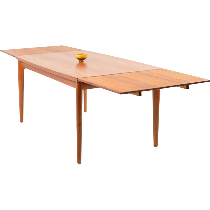 Teak dining table by Henning Kjaernulf - 1960s