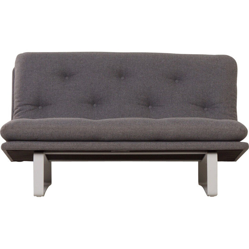Grey C684 Sofa by Kho Liang from Artifort - 1960s